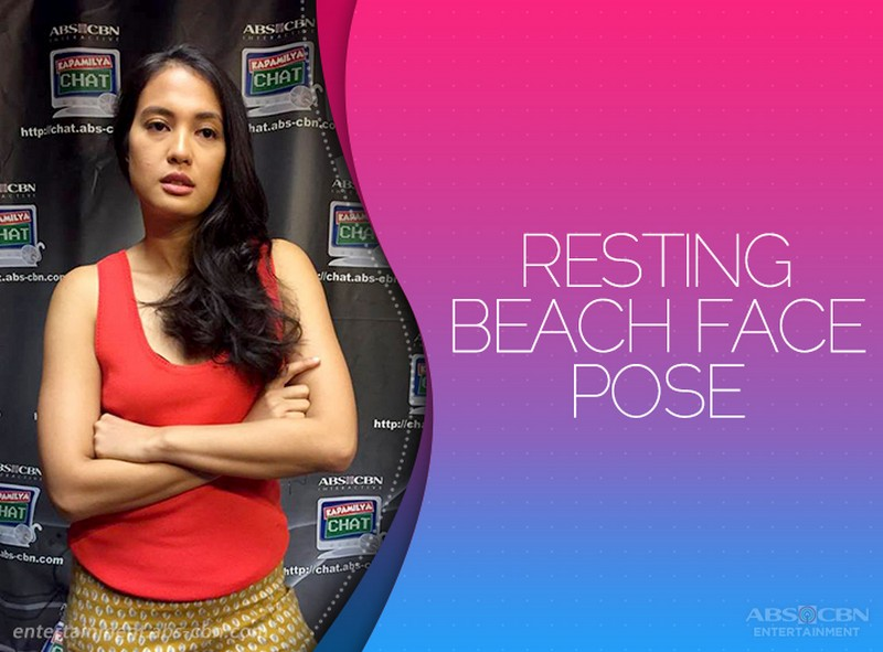Isabelle Daza's signature poses